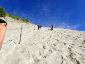 Sandblaster Run, Hindernislauf Deutschland, Aufstieg Monte Kaolino