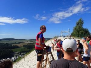 Sandblaster Run, Hindernislauf Deutschland, Briefing