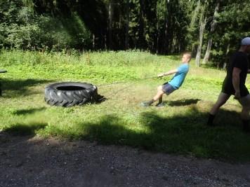 Sandblaster Run, Hindernislauf Deutschland, Hindernis Tire Pull