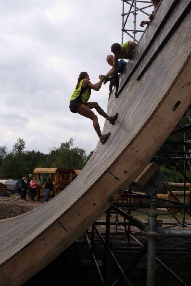 Mud Masters Obstacle Run, Hindernislauf Deutschland, Hindernis Halfpipe