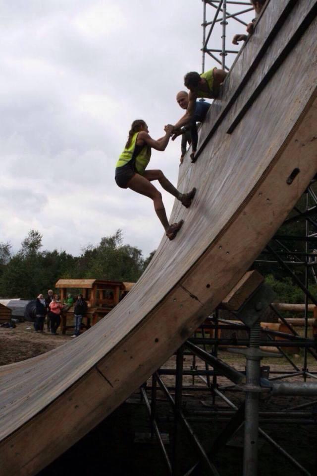 Mud Masters Obstacle Run, Hindernislauf Deutschland, Hindernis Halfpipe