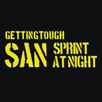 Logo Getting Tough Sprint at Night