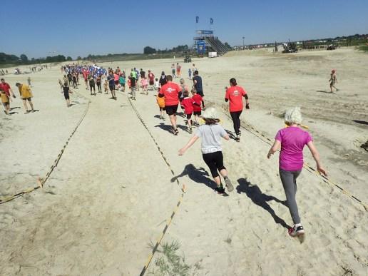 Mud Masters Family Run, Hindernislauf Deutschland, Nach dem Start