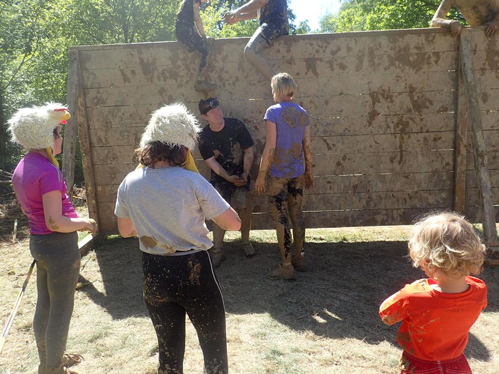 Mud Masters Family Run, Hindernislauf Deutschland, Hindernis Wall