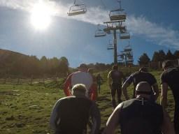 Spartan Race Beast, Spartan Mountain Series Europe, Hindernislauf Andorra, Erster Anstieg