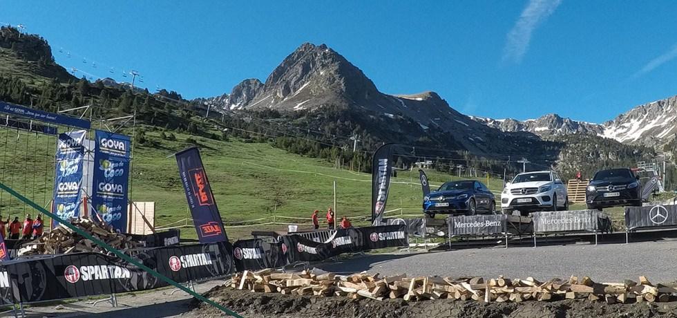 Spartan Race Beast, Spartan Mountain Series Europe, Hindernislauf Andorra, Hindernis Fire Jump