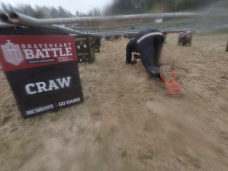 Braveheart Battle, Hindernislauf Thüringen, Hindernis Crawl