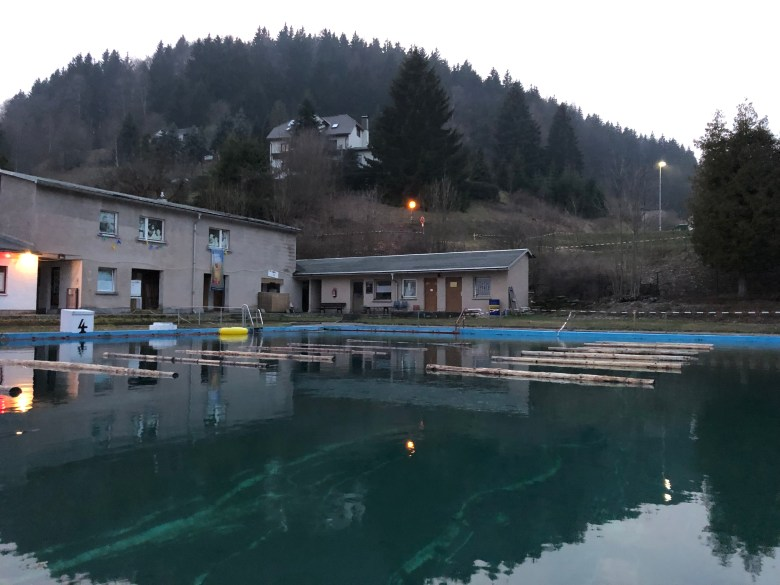 Braveheart Battle, Hindernislauf Thüringen, Hindernis Schwimmbad