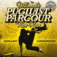 Logo Pugilist Parcour Fun Run