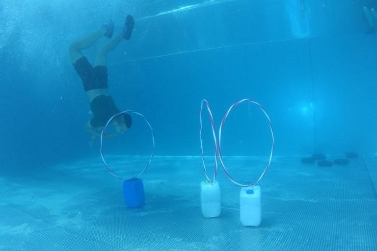 Blaster Run, Hindernislauf Bayern, Unterwasserhindernis Teilnehmer 11