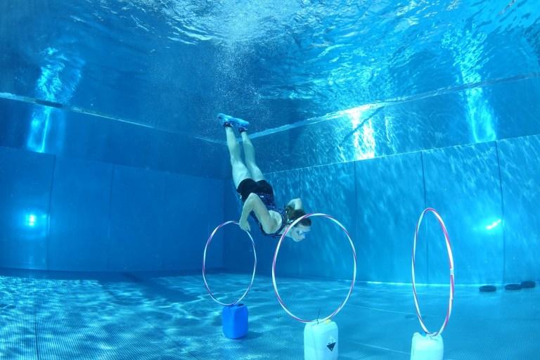 Blaster Run, Hindernislauf Bayern, Unterwasserhindernis Teilnehmer 12