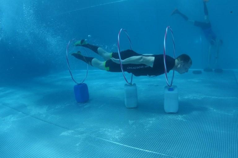 Blaster Run, Hindernislauf Bayern, Unterwasserhindernis Teilnehmer 6