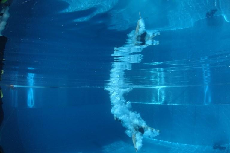 Blaster Run, Hindernislauf Bayern, Unterwasserhindernis Teilnehmer 7