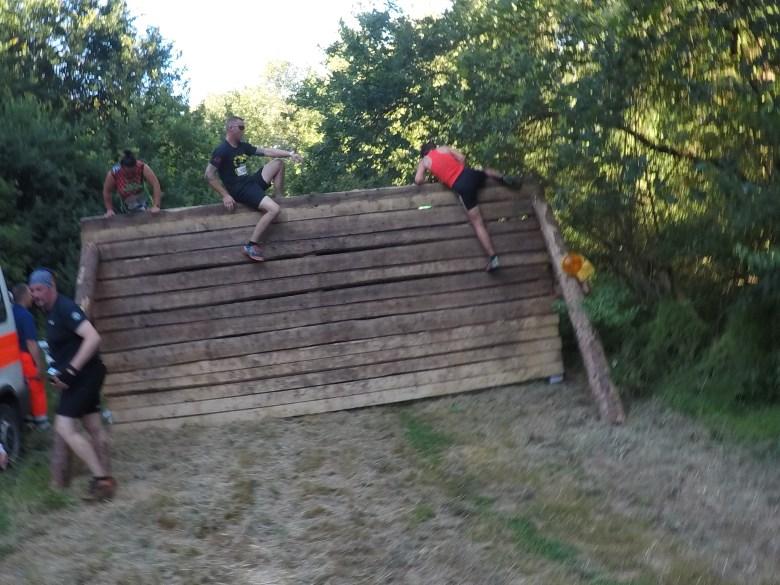 Hindernis Wooden Wall, Steelman Run