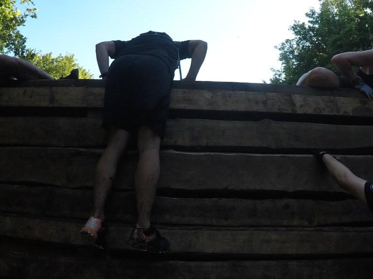 Steelman Run, Hindernislauf Niedersachsen, Wooden Wall