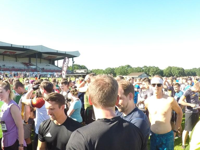 Startbereich Steelman Run Hannover