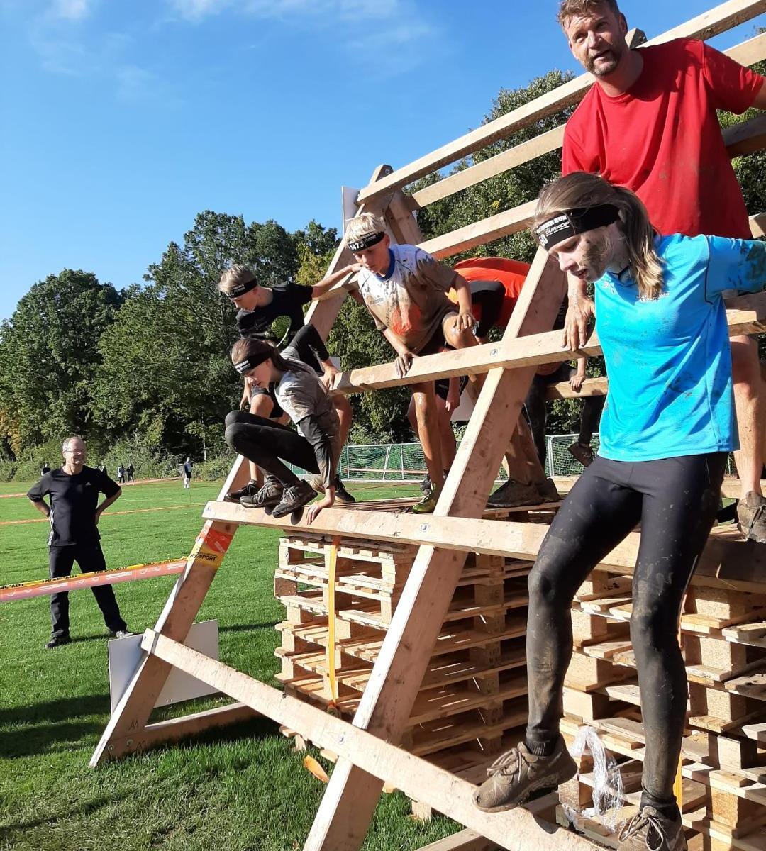 Great Barrier Run Kids, Hindernislauf Kinder und Familien, A Frame