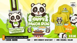 Kulim Happy Panda 5KM Fun Run @ MBI Desaku