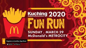 Mekdi Fun Run 2020 @ McDonald's Metrocity DT, Kuching