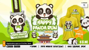 Ipoh Happy Panda 5KM Fun Run @ Vivo Square, Ipoh