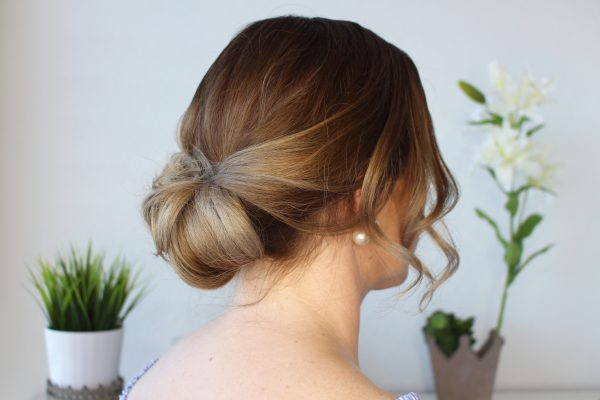 Einfache Dutt Frisur Für Den Sommer – Toujoursstyle Com