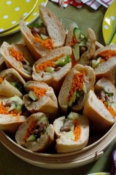 ma version simplifiée du sandwich vitnamien