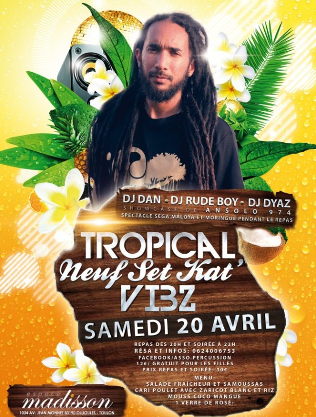 SOIREE TROPICALE