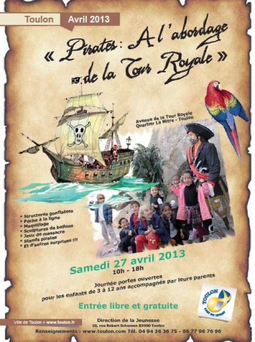 pirates tour royale