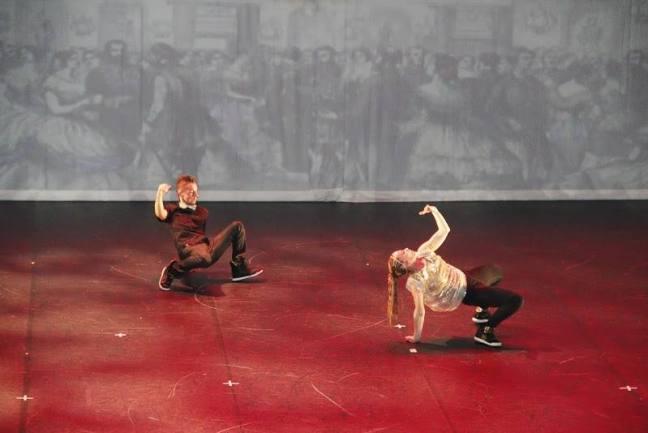 la funambule et le danseur