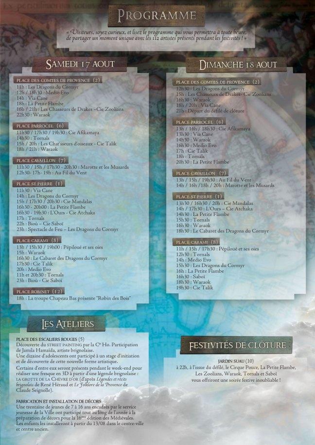 medievales_Programme