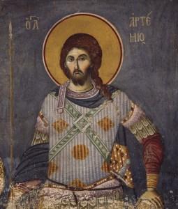Saint Artème, grand martyr à Antioche
