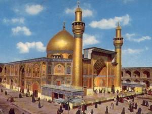 ضريح الإمام علي بمدينة النجف