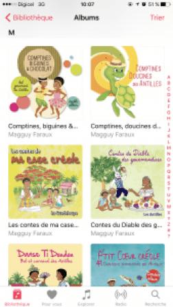 Albums itunes de Magguy Faraux