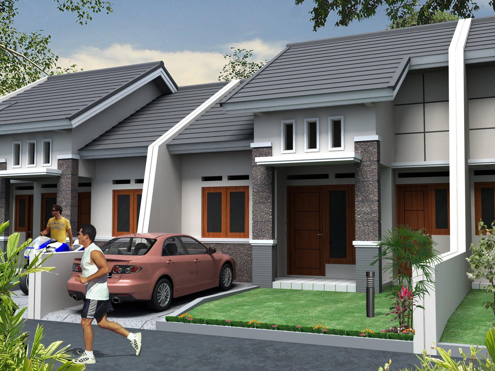 Desain Rumah Minimalis Type 45  Disain Arsitektur Rumah Tinggal dan Bangunan