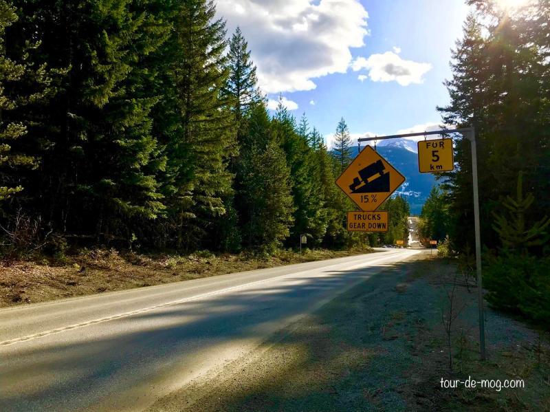 Kanada-Roadtrip-Gefälle