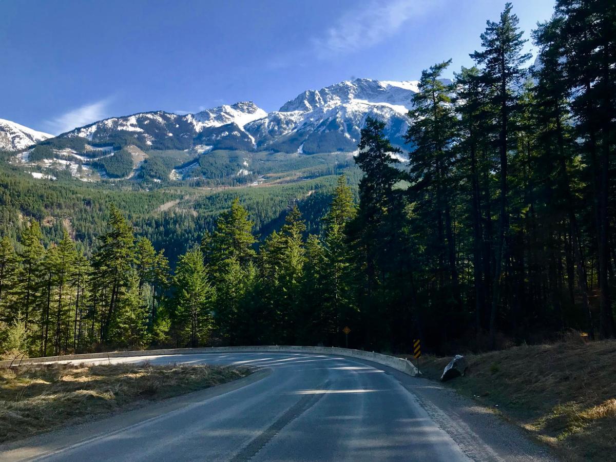 Kanada-wilder-Westen-Straße