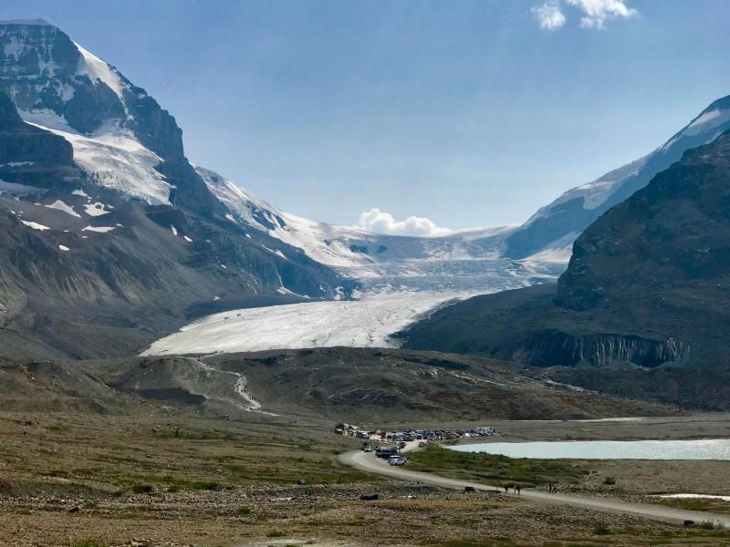 Gletscher-Icefield