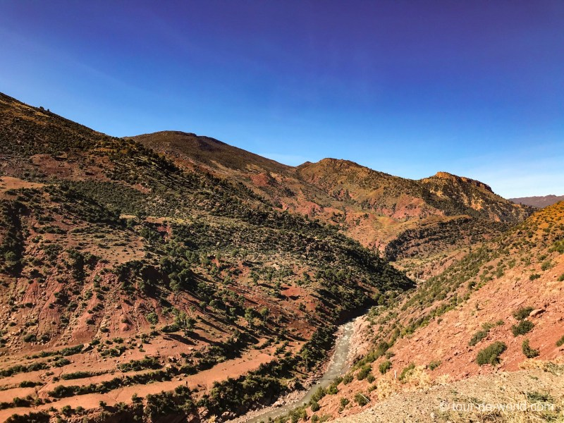 Marokko_Gebirge_rot
