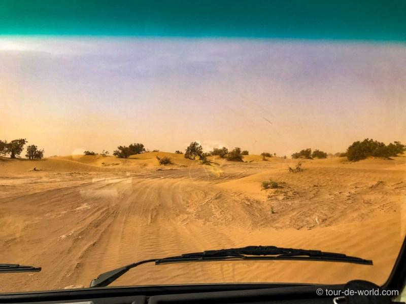Wüstenfahrt-Marokko-Sand