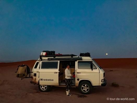 camping-in-Wüste-Marokko