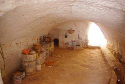 interieur d'un habitation troglodyte