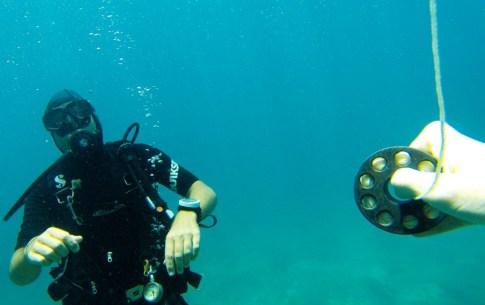 cours de plongée