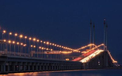 penang Bridge جسر بينانج