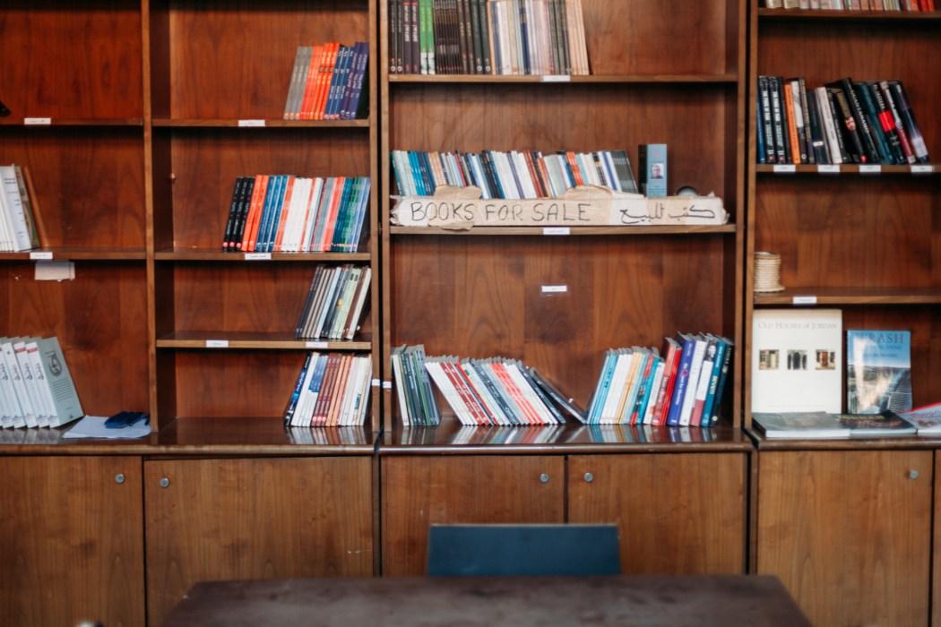 Espace bibliothèque, Jadal © Mehdi Drissi