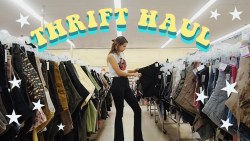 TRY ON THRIFT HAUL | Come Thrifting With Me Ep. 4