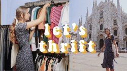 come thrifting in milan, italy | ep. 7