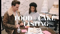 WEDDING SERIES: Food + Cake Tasting!