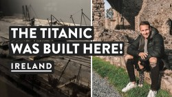 First Day in Ireland! THE TITANIC MUSEUM + Bangor | Northern Ireland Travel Vlog