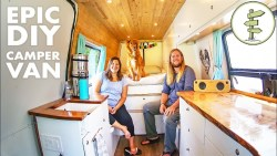 Van Life – Couple Sold Their House To Live in a DIY Camper Van