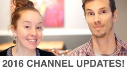 2016 Channel Updates: Sponsors, New Logo, Travel Plans & More